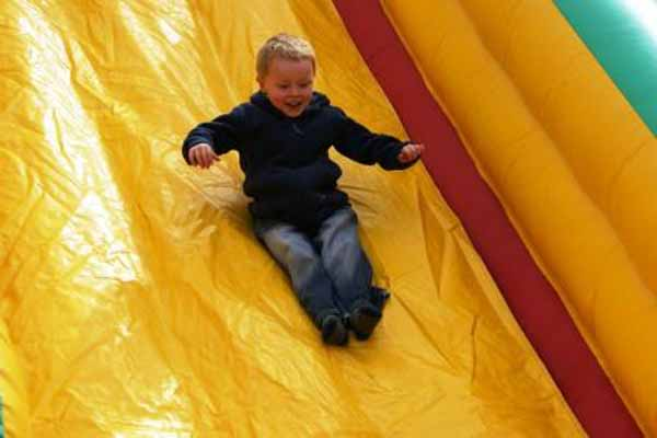 Petaluma Pumpkin Patch Slide