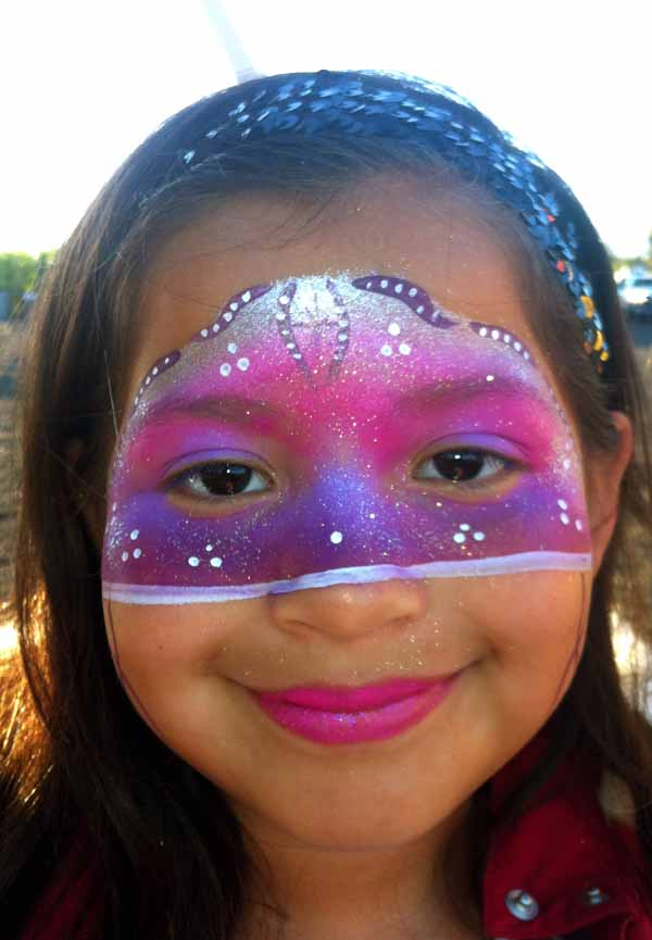 Petaluma Pumpkin Patch Face Painting