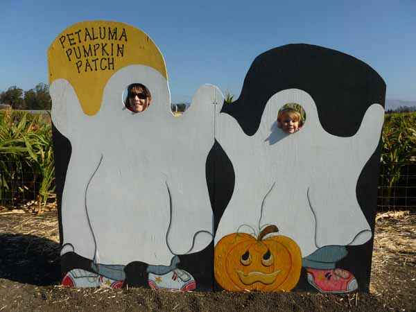 Petaluma Pumpkin Patch Photo Fun